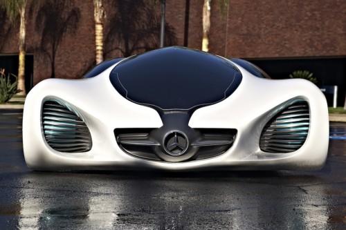 سيارة مرسيدس Biome حيث تصنع بتقنية ثورية جديدة